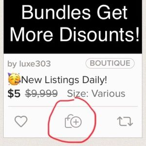 Bundle and save! Use That Button!